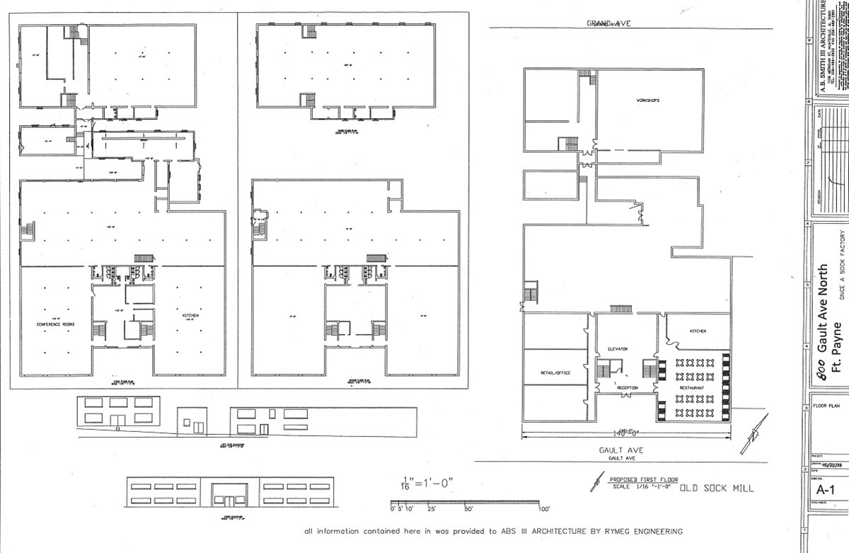 entrepreneurial center building plans